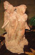 Daughters of Odessa Terracotta Sculpture 1993 Sculpture by Frederick Hart - 1