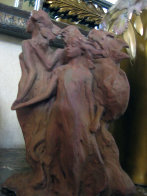 Daughters of Odessa Terracotta Sculpture 1993 Sculpture by Frederick Hart - 5