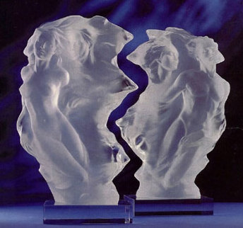 Duet: A Spiritual Song of Love Acrylic Sculpture 1996 Sculpture by Frederick Hart