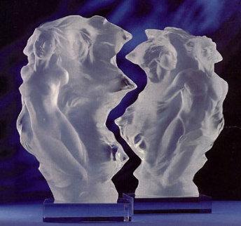 Duet: A Spiritual Song of Love Acrylic Sculpture 1996 Sculpture by Frederick Hart