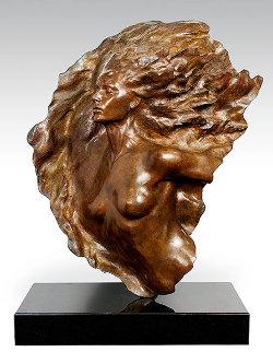 Ex Nihilo, Fragment No. 2 Bronze Sculpture 2002 39x33 Sculpture - Frederick Hart