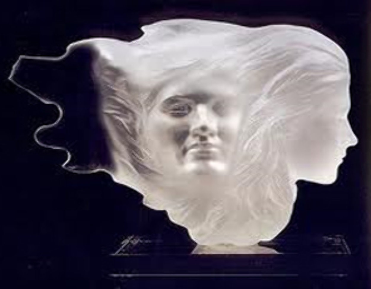 Herself Acrylic Sculpture 1994 18 in Sculpture by Frederick Hart