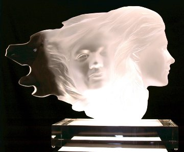 Herself Acrylic Sculpture 1984 18 in Sculpture - Frederick Hart