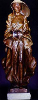 Source 1995 (1/2 Life Size) Bronze Sculpture 33 in Sculpture - Frederick Hart