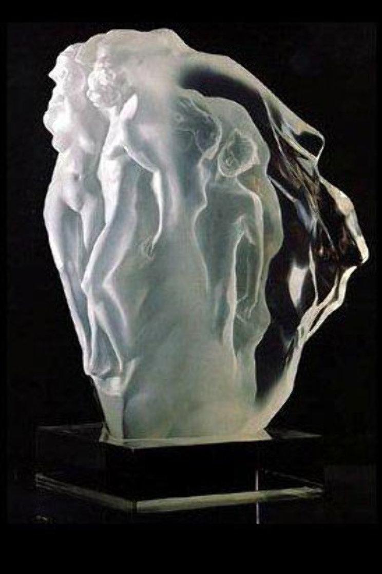 Breath of Life Lucite Sculpture 1990 18 in Sculpture by Frederick Hart