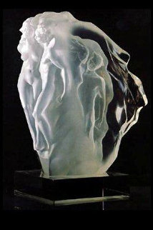 Breath of Life Lucite Sculpture 1990 Sculpture by Frederick Hart