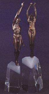 Ascent to Victory 1992 Bronze Sculpture Sculpture - Frederick Hart