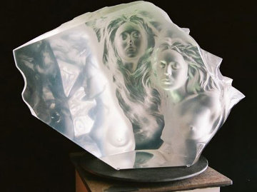 Counterpoint Acrylic Sculpture Sculpture by Frederick Hart