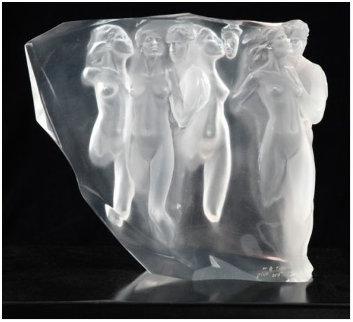 Gerontion Acrylic Sculpture 1982 13 in Sculpture - Frederick Hart