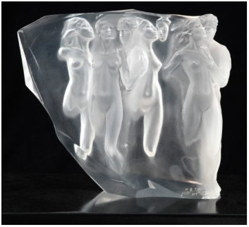 Gerontion Acrylic Sculpture 1982 13 in Sculpture by Frederick Hart