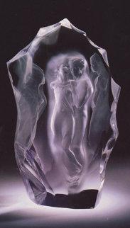 Illuminata III Acrylic Sculpture 1999 Sculpture - Frederick Hart