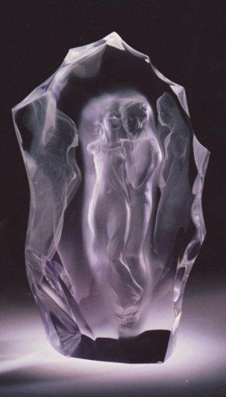 Illuminata III Acrylic Sculpture 1999 Sculpture by Frederick Hart
