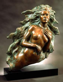 Awakening of Eve 1994 Bronze Sculpture 16 in Sculpture - Frederick Hart