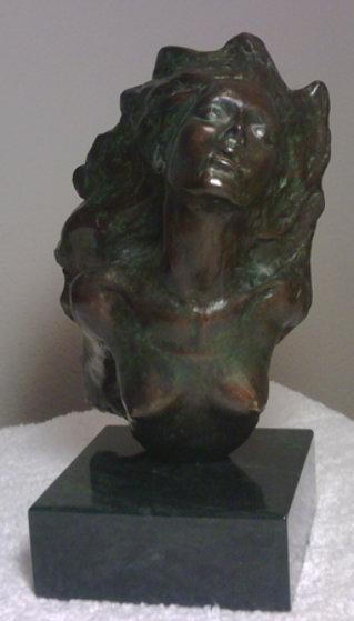 Firebird Bronze Sculpture 1987 Sculpture by Frederick Hart