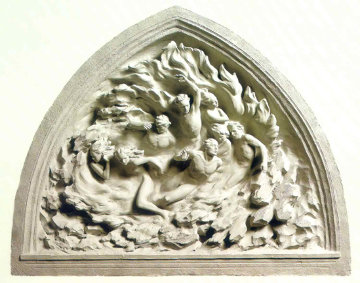 Ex Nihilo, Maquette, Cast Marble 2001 Sculpture by Frederick Hart