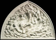 Ex Nihilo  Working Model Marble Sculpture 1974 84 in Sculpture by Frederick Hart - 1