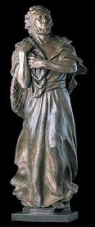 Saint Peter Life Size Bronze Sculpture 2003 Sculpture - Frederick Hart