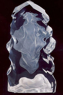 Echo of Silence Acrylic Sculpture 1992 22 in Sculpture - Frederick Hart