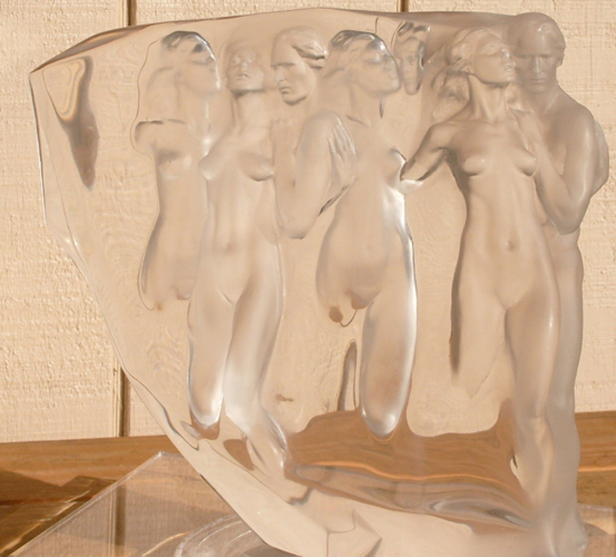Gerontion Acrylic Sculpture 1982 12 in Sculpture by Frederick Hart