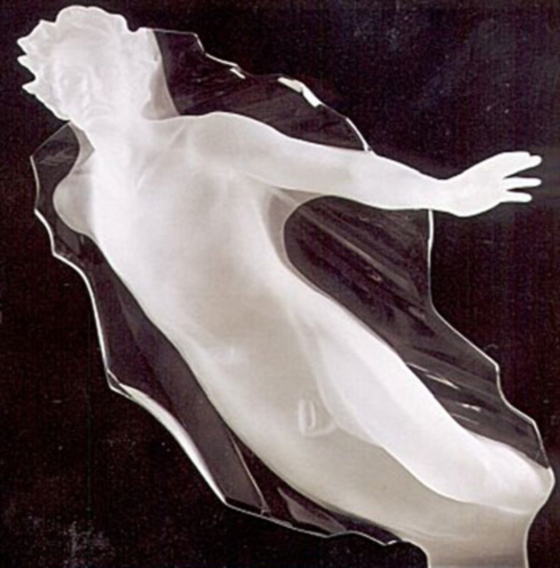 Sacred Mysteries Male Acrylic Sculpture 1983 30 in  Sculpture by Frederick Hart