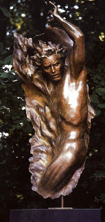 Ex Nihilo Full Figure  4, 2002 Bronze Sculpture 2002 62 in Sculpture - Frederick Hart