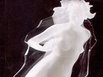 Sacred Mysteries: Acts of Light (Female) Acrylic Sculpture 1983 Sculpture by Frederick Hart