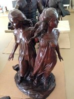 Sisters from Daughters of Odessa    Bronze Sculpture AP 1997 51 in Sculpture by Frederick Hart - 1