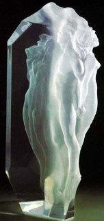 Transcendent Acrylic Sculpture 1993 Sculpture - Frederick Hart