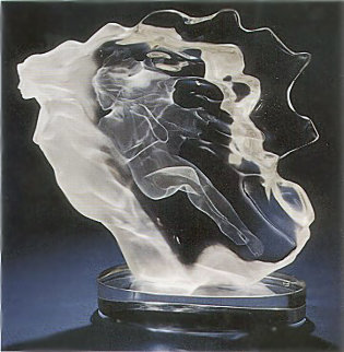 Spirita Acrylic Sculpture 1988 15 in Sculpture by Frederick Hart