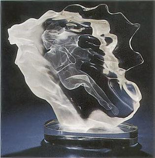 Spirita Acrylic Sculpture 1988 15 in Sculpture - Frederick Hart