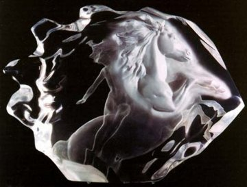 Ride Acrylic Sculpture 1990 20 in Sculpture - Frederick Hart