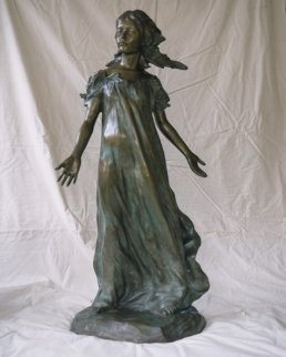 Youngest Daughter From Daughters of Odessa Bronze Sculpture 1997 43 in Sculpture - Frederick Hart