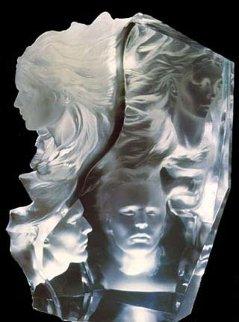 Appassionata Acrylic Sculpture 2000 Sculpture by Frederick Hart