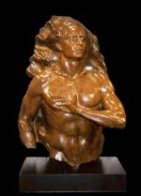 Adam Bronze Sculpture 2004 36 in Sculpture by Frederick Hart - 1