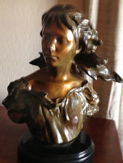 Poetry Bronze Sculpture, 2006 From The Muses Suite 15 in Sculpture - Frederick Hart