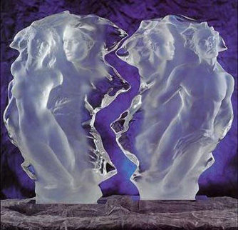 Duet Acrylic Sculpture 1/2 Life Size 24 in Sculpture by Frederick Hart