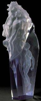 First Light Acrylic Sculpture 1983 Sculpture by Frederick Hart