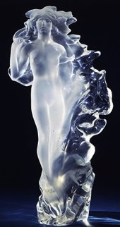 Veil of Light Acrylic Sculpture 1998 22 in Sculpture - Frederick Hart