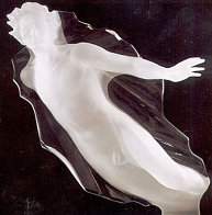 Sacred Mysteries:  Female And Male, Set of 2 Acrylic Sculptures 1983 48 in Sculpture by Frederick Hart - 1