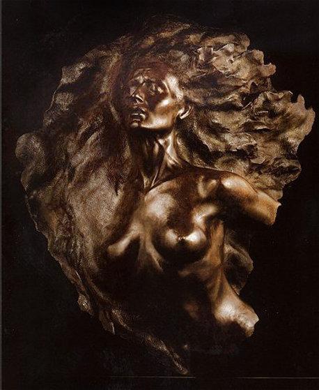 Ex Nihilo, Fragment  2 Bronze Sculpture 2002 38 in Sculpture by Frederick Hart