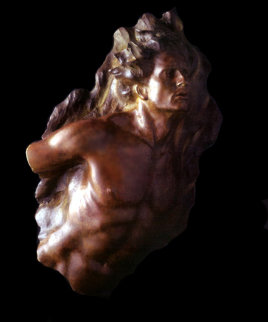 Ex Nihilo Fragment  5 Bronze Sculpture 2003 40 in Sculpture - Frederick Hart