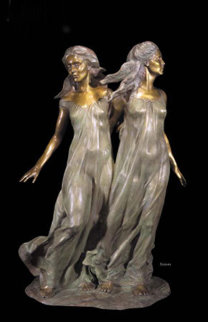 Daughters of Odessa Sisters  Bronze Sculpture 1997 48 in Sculpture - Frederick Hart