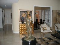 Daughter Life Size  Bronze Sculpture 2000 48 in Sculpture by Frederick Hart - 1
