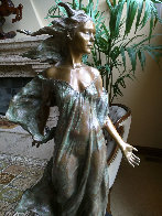 Daughter Life Size  Bronze Sculpture 2000 48 in Sculpture by Frederick Hart - 3