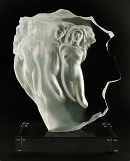Light Whispers Acrylic Sculpture 1985 17 in Sculpture by Frederick Hart