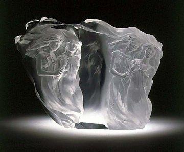 Illuminata II Acrylic Sculpture 1998 Sculpture by Frederick Hart