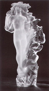 Veil of Light Acrylic Sculpture 1988 22 in Sculpture by Frederick Hart