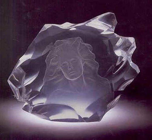 Illuminata I Acrylic Sculpture 2004 Sculpture by Frederick Hart