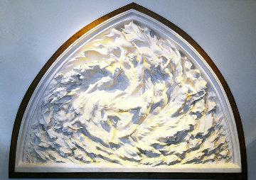 Ex Nihilo Life Size Resin Sculpture Working Model 60 in Sculpture - Frederick Hart