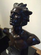 Head of Male, Celebration Bronze Sculpture 2002 Sculpture by Frederick Hart - 1